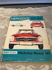 MERCEDES 230SL/250S/250SE/250SL intereurope Workshop Manual135 Peter Russek 1969