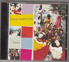 VOCAL SAMPLING - una forma mas CD