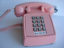 Vintage Pink  Western Electric 2500 Telephone works reconditioned