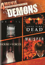 Devil , Long Time Dead , House of Voices and Whisper - 4 Horror films - New