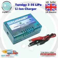 Turnigy 2-3S 7.4 11.1V LiPo Lithium Li-Ion Battery Balance Charger RC