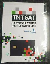 ✅ carte TNTSAT ASTRA 19.2E OFFICIELE NEUVE 4 ANS RECEPTEUR SATELLITE  ✅