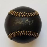 Kobe Bryant autograph signed Black Rawlings Baseball ~ Beckett BAS COA LOA