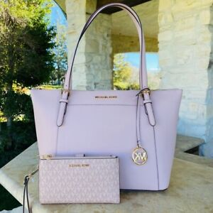 NWT Michael Kors Large Ciara tote Leather handbag leather / Wallet options pink