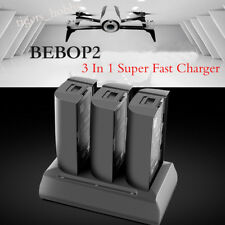 3 In 1 Super Fast Charger Adapter for Parrot Bebop 2 Drone/ FPV Balanced Battery