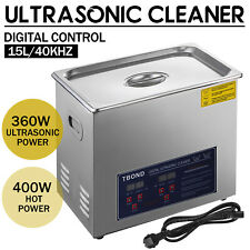 6l Dual Frequency Digital Ultrasonic Cleaner Cleaning Tank Basket Timer Heater