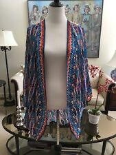 "NWT ""TOLANI"" Open Front Poncho Wrap Scarf ""One Size Fits All"" 100% Viscose"