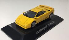 CM'S 1/64 Lamborghini Diablo SV Diecast Car Model Yellow