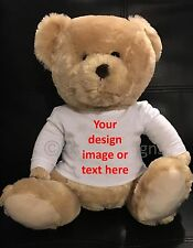 Personalised Customised Teddy Bear