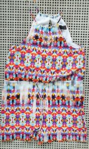 ❤️ WISH Summer Strappy Playsuit Romper Multicolor Size 6 Buy7=FreePost L834