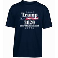 Donald Trump 2020 NAVY Make America Great Again Men Women Unisex T-shirt 3803