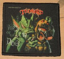"TANKARD ""HAIR OF THE DOG"" silk screen PATCH"