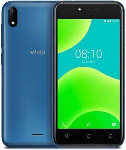 "Wiko Y50 Italia Smartphone, Android 8.1 Oreo, Display 5"" inch, 1/16GB BLUE BLU"