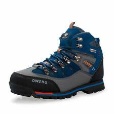 Men Hiking Shoes Waterproof Leather Shoes Climbing Fishing Shoes Traveling