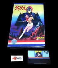 VALIS THE FANTASM SOLDIER Msx MSX 2 Mega Rom Japanese Version TELENET  No manual