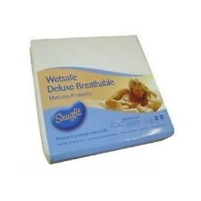 "Single Extra Deep 16"" Snugfit Wetsafe Deluxe  Waterproof  Mattress Protector"