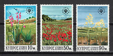 CYPRUS 1970 EUROPEAN CONSERVATION YEAR MNH