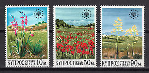 CYPRUS 1970 EUROPEAN CONSERVATION YEAR MNH