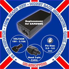 19v 3.15 a 60w F Samsung Adp-60zh Ac Adaptador Cargador Psu