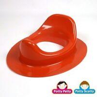 Potty Scotty/Patty Boys/Girls Toddler Training Elongated Toilet Seat - RED