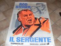 MANIFESTO IL SERGENTE ROD STEIGER    B