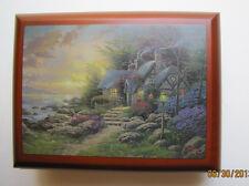 """Thomas Kinkade Wooden  Music Box  - """"Seaside Hideaway""""  NIB Item# 0110812003"""