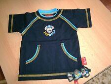 Hochwertiges, sehr schönes Shirt von Sigikid gr.62 3M Baumwolle/Nachtblau=NEU