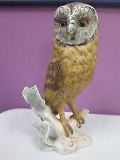 VINTAGE GOEBEL W GERMANY BIRD FIGURINE BARN OWL CV 112 -1969