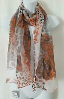 "New with tag $58 NORDSTROM 100% Silk Scarf 70"" X 19"" Made in Italy"