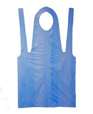 "Shield Safety Poly Apron 28"" X 46"" 2mil Disposable Blue Latex Free 10000 Pieces"