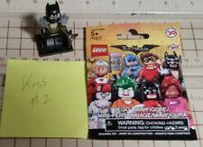 Lego The Batman series minifigure #2 Glam Metal Batman