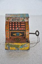 Vintage 786 44 Lovely Toys Unique Wind Up Coin / Safe Box , Collectible