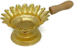 Jerusalem Frankincense Burner Resin Natura Incense Brass Holy Land Copper