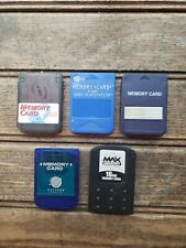 Lot of 5 PlayStation 1 PS1 Memory Card for Original PS1