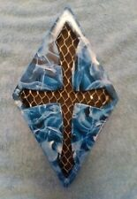 Harley Davidson  Diamond horn cover with blue flames. for all HD models.