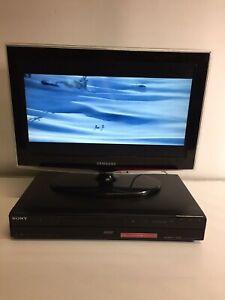 SONY  RDR-DC100 DVD RECORDER 160GB HDD HDMI USB FREEVIEW