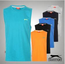 Boys' No Pattern 100% Cotton Sleeveless T-Shirts & Tops (2-16 Years)