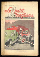 TINTIN LE PETIT TWENTIETH no.35 1st seven 1938 IN SYLDAVIA HERGé SUPERB