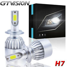 H7 LED Headlight For Kia Optima Sedona Sportage Sorento High Low Beam COB Chips