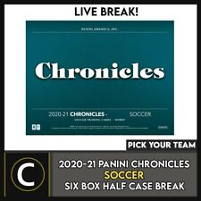 2020-21 Panini crónicas Soccer 6 Caja (mitad Case) romper #S168 - Elige Tu Equipo