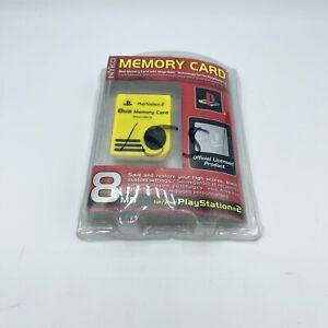 NEW! NYKO 8MB Memory Card - Playstation 2 - PS2