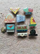 9 Pin's Pins divers