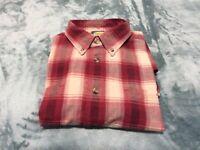Men's Cabela's Outdoor  Gear  Casual Button Up Long Sleeve Shirt Sz. L Tall NEW