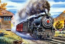 Steam Train Diamond Painting Mosaic Kit 30 x 40 cm