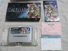 Z179 Nintendo Super Famicom Star Ocean SFC SNES Japan w/box F/S