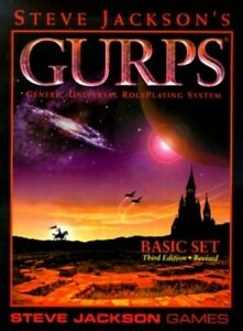 Basic Set (GURPS) Paperback Book The Cheap Fast Free Post