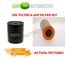 DIESEL SERVICE KIT OIL AIR FILTER FOR IVECO DAILY 35C14 2.3 136 BHP 1999-06