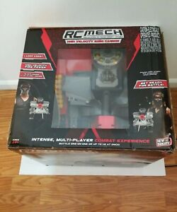 RC MECH High Velocity Robo Cannon Red Robot Remote Control
