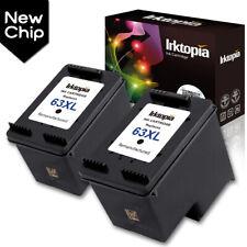 Combo Packs 63XL Black Ink Cartridges For HP Deskjet 1111 3636 ENVY 4510 4523