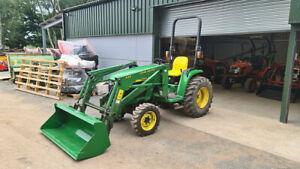 John Deere Compact Tractor 4400 Front Loader NO VAT